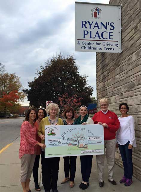 Ryan's Place Check Presentation from 100 Women Who Care
